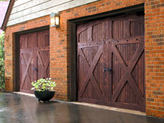 Wooden Garage Doors Alvin
